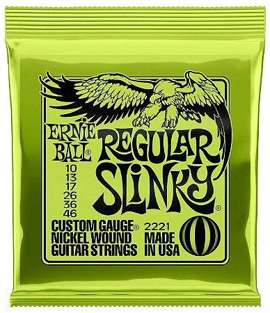 ENC. ERNIE BALL GUITARRA 010-046 REGULAR SLINK NIQ