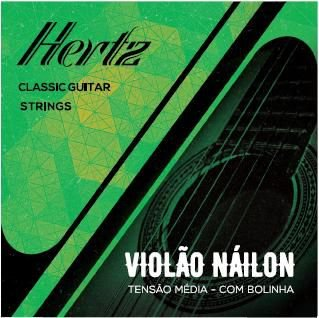 ENC. HERTZ VIOLÃO NYLON COM BOLINHA