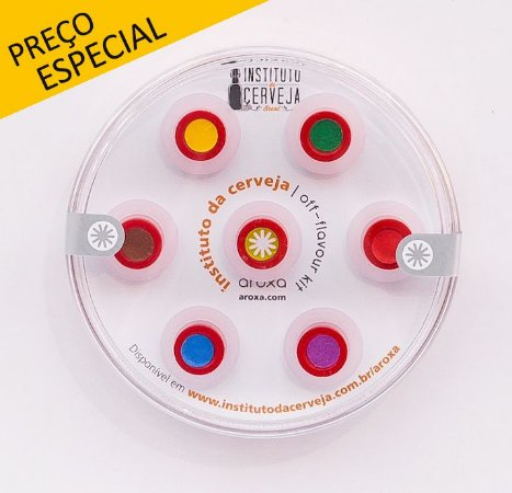 KIT AROXA-030-INSTITUTO DA CERVEJA (6 CÁPSULAS + CONTROLE)