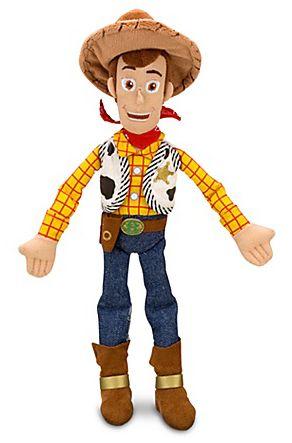 Woody Toy Story de Pelúcia Médio