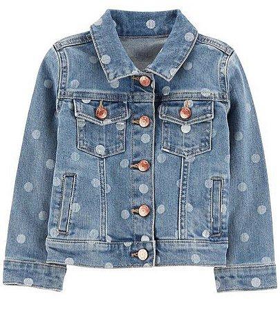 Jaqueta Jeans Carter's