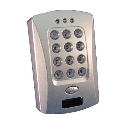 Controle Acesso Stand Alone Digiprox - Leitor proximidade + teclado senha