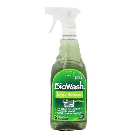 Limpa Banheiro Natural BioWash 650ml Pinho e Eucalipto