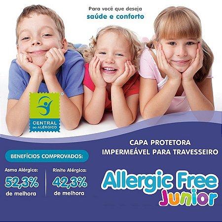 Capa Impermeável para Travesseiro de Criança Allergic Free 45 x 65cm