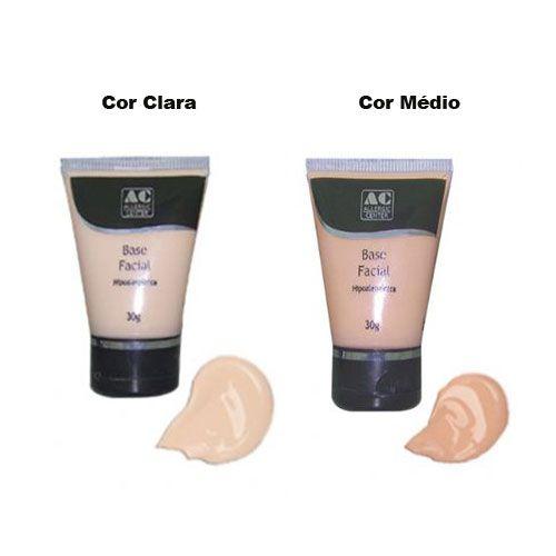 Base Facial Hipoalergênica 30g - Allergic Center