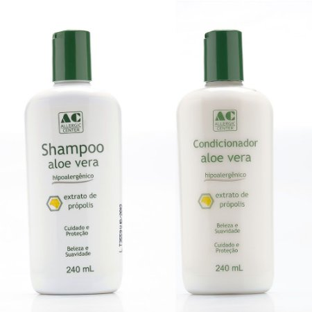 Kit Shampoo + Condicionador Hipoalergênico Allergic Center