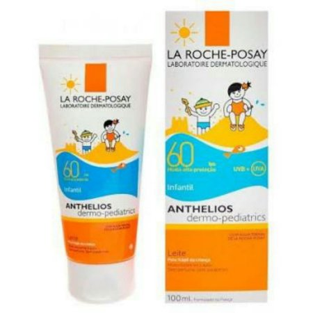 Protetor Solar Anthelios Dermo-Pediatrics FPS 60 Infantil 120ml