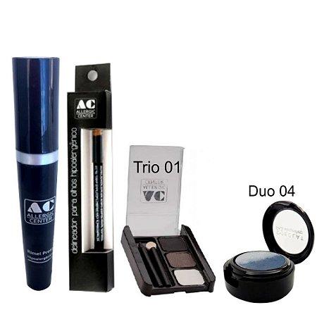 Kit de Maquiagem Hipoalergênica para Olhos Completo Cor 1 - 04