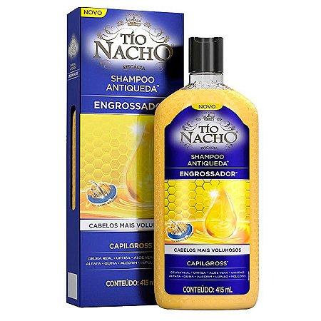 Shampoo Antiqueda Engrossador Cabelos Mais Volumosos 415ml - Tio Nacho