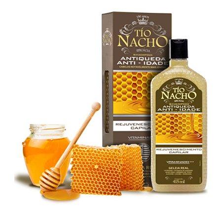 Shampoo Tio Nacho Antiqueda Anti-idade - 415ml