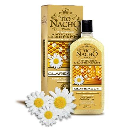Shampoo Tio Nacho Antiqueda Clareador Camomila - 415ml