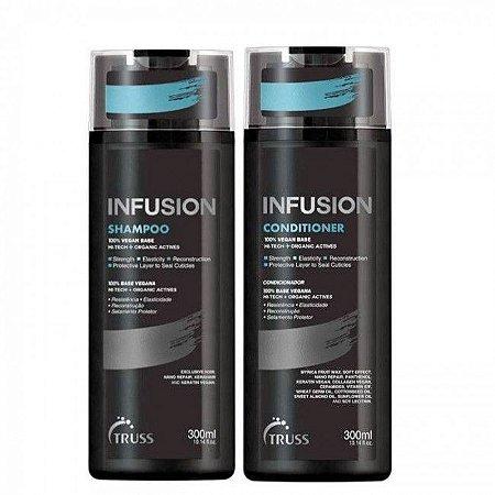 Truss Infusion Shampoo e Condicionador 300ml Reconstrução