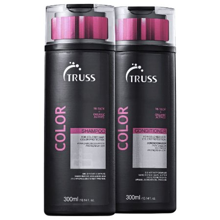 Truss Color Shampoo + Condicionador 300ml Cabelos Tingidos