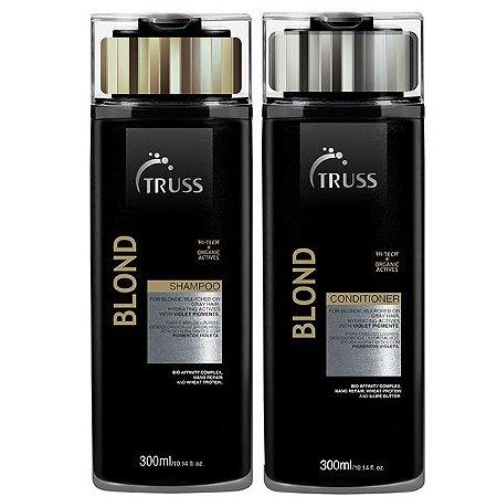Truss Blond Shampoo + Condicionador 300ml
