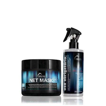 Truss Kit de Tratamento Profundo Net Mask + Uso Obrigatório