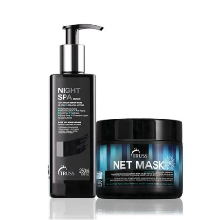 Truss Kit de Tratamento Profundo Net Mask + Night Spa