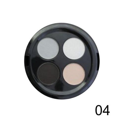 Quarteto de Sombras Top Beauty Cor 04