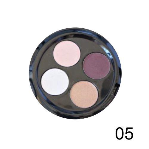 Quarteto de Sombras Top Beauty Cor 05