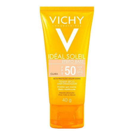 Protetor Solar Idéal Soleil Efeito Base FPS 50 40g Vichy