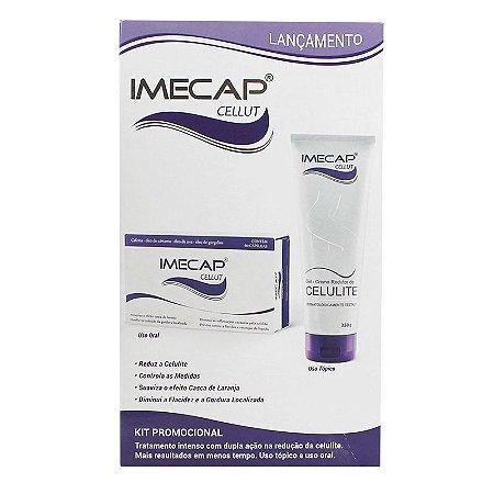 Imecap Cellut Kit Gel Creme Redutor de Celulite + Cellut 60 cápsulas