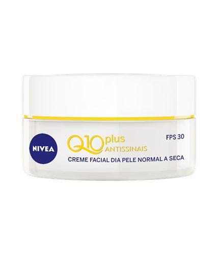 Creme Facial Nivea Q10 Plus Antissinais Pele Normal a Seca FPS 30 50ml