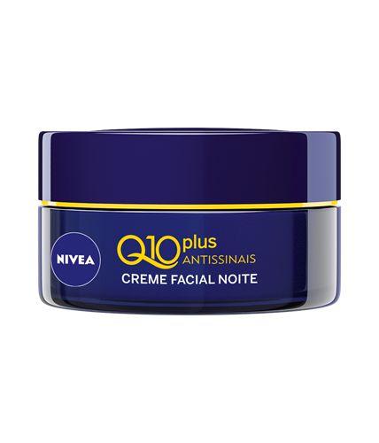 Creme Facial Nivea Q10 Plus Antissinais Noturno 50ml