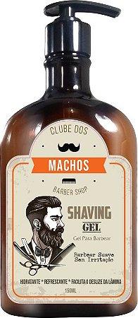 Gel de Barbear Shaving Gel 150ml Clube dos Machos