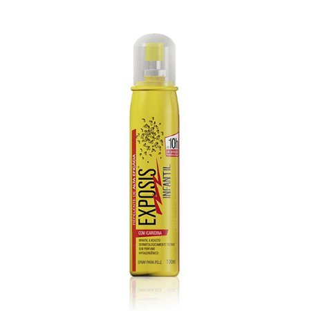 Repelente Exposis Infantil Spray 100ml