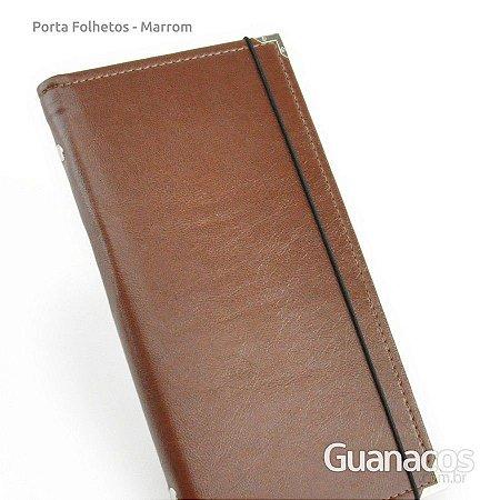 Porta Folhetos - Marrom Café