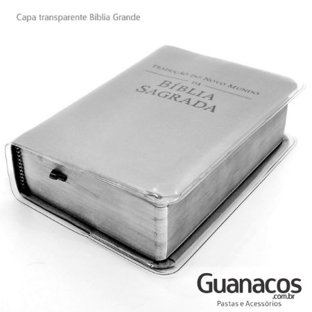 GRANDE  - capa para BÍBLIA NW   PVC Cristal