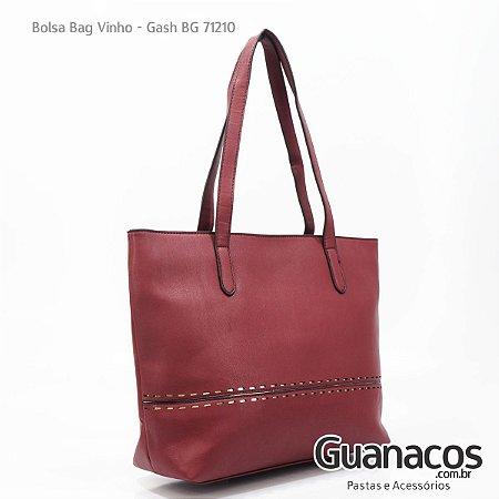 b326431fe Bolsa Vinho - Gash 71210 - Guanacos Pastas e Acessórios