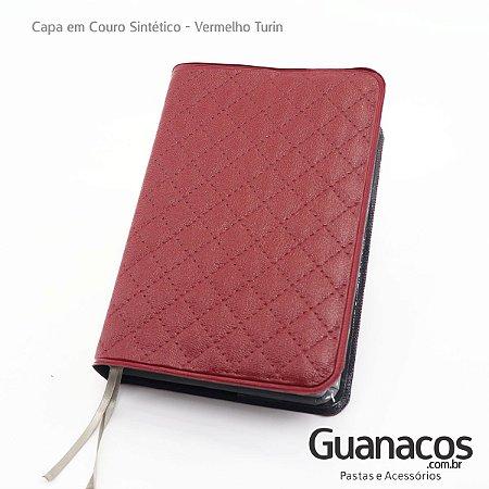 Capa de Bíblia Couro sintético Vermelho Turin