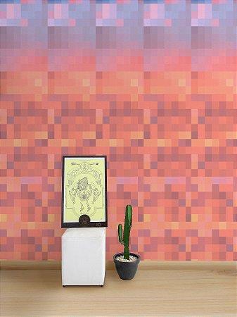 Papel de Parede Adesivo Pixel Céu