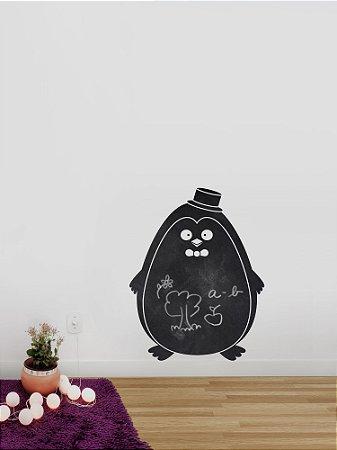 Adesivo de parede Lousa Pinguim