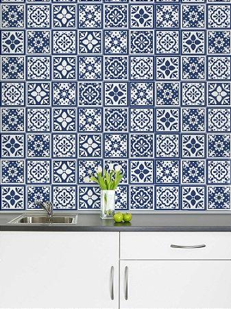 Adesivo de azulejo Gal Azul