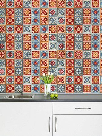 Adesivo de azulejo Gal Festa