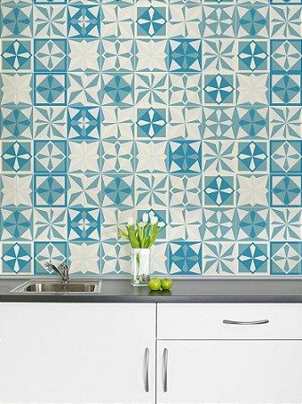 Adesivo de azulejo Hidromix Azul