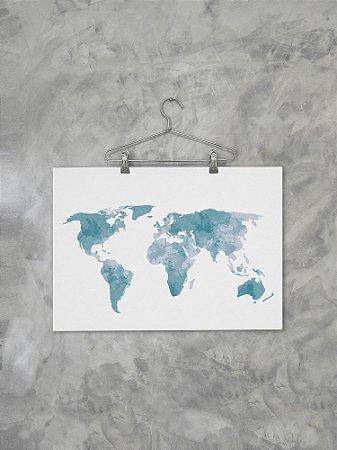 Poster Mundi Coetâneo Mapa 1