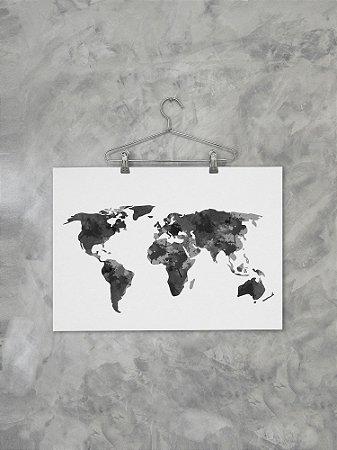 Poster Mundi Coetâneo Mapa 2