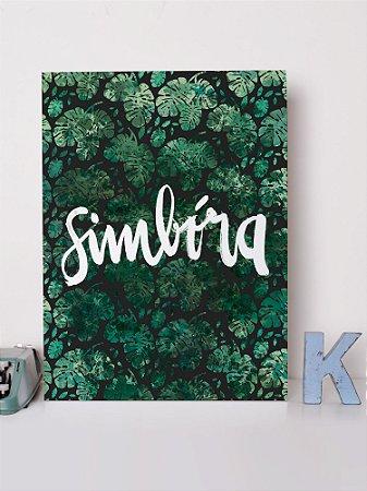 Placa decorativa Simbóra