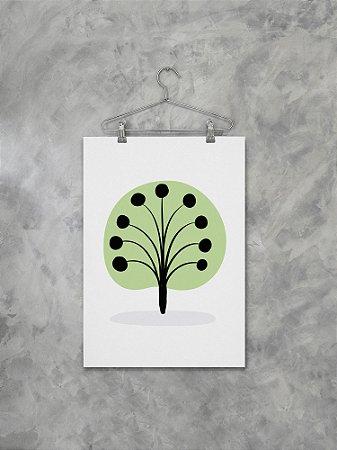 Poster Árvore Verde