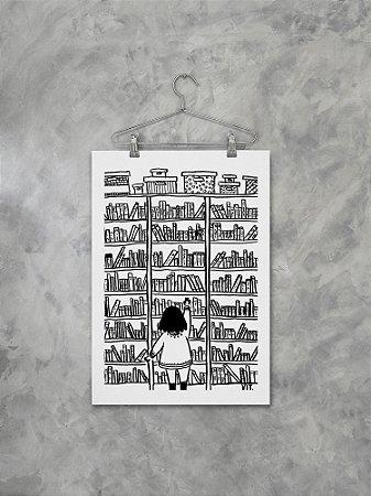Poster Biblioteca