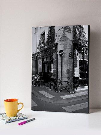 Quadro MDF Foto Esquina Paris