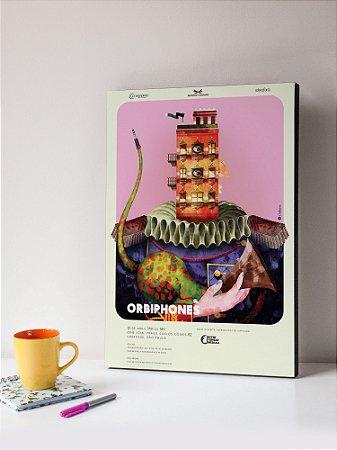 Quadro MDF Orbiphones