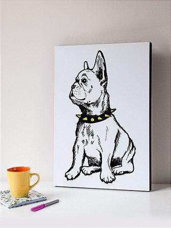 Quadro MDF  Bulldog 3