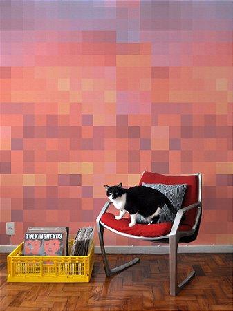 Mural papel de parede adesivo pixel Céu