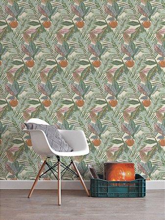 Papel de parede Adesivo Palm Tree Areia