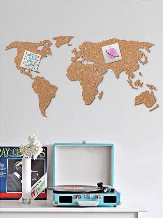 Cortiça decorativa Mapa Mundi