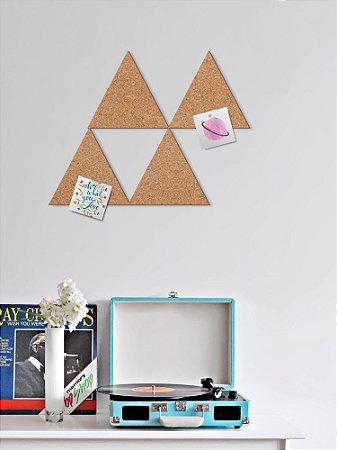 Cortiça decorativa Triângulo