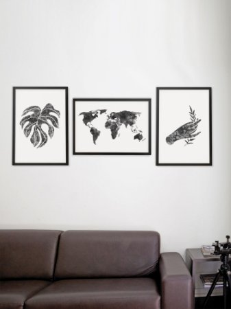 Kit com 3 Posters A3 Mundi Coetâneo